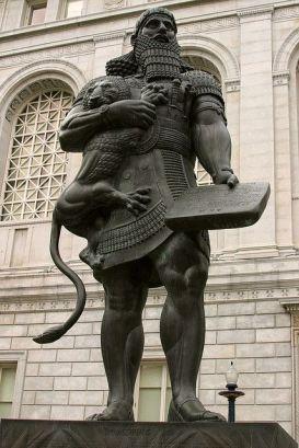 gilgamesh-lion
