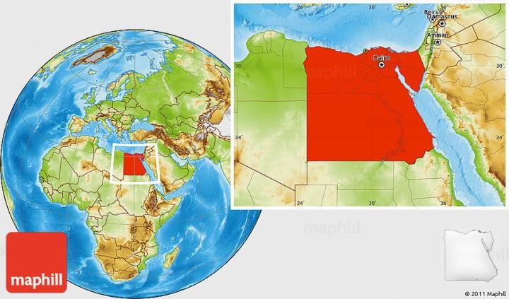 location-of-egypt