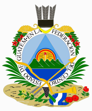 Coat of arms of Guatemala 1825-1843 (wikipedia.org)